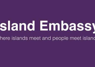 Island Embassy: An island in the city where islands meet, and people meet islands